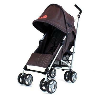 Baby Stroller Zeta Vooom - Hot Chocolate (Brown) Buggy Pushchair From Birth With
