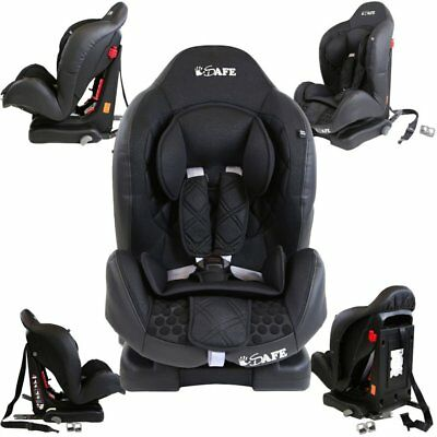 iSafe Multi Recline Isofix Car Seat Carseat Raven Black Group 1  9mths- 4yrs