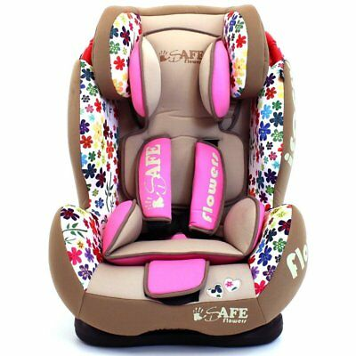 SALE!!! iSafe Isofix Duo Trio Plus Isofix Top Tether Car Seat Carseat Flowers