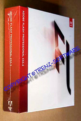 Adobe Flash Professional CS 5.5 Macintosh englisch Vollversion DVD - MwSt. CS5.5