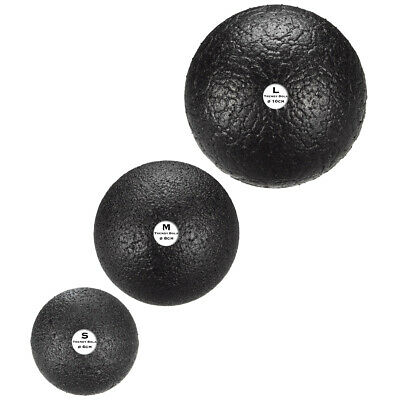 Trendy Sport Bola Black Faszienball Triggerpunktball Massageball 9116