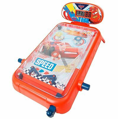 Disney Cars Electronic Pinball Machine Table Top Toy Game Childrens Kids Family