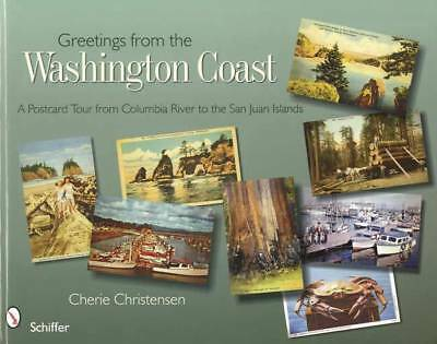 Washington State Vintage Postcard Guide c1900 & Up - Columbia River to San Juan