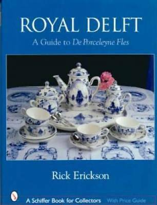 Royal Delft ID$$ Book Plates Tile Vases MORE