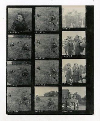 John Lennon 1967 How I Won The War Vintage Contact Sheet Germany Beatles