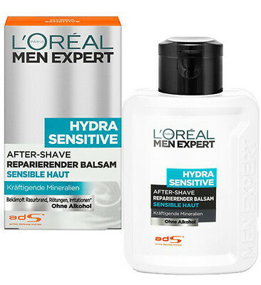 L'Oréal Men Expert Hydra Sensitive After-Shave Multi Balsam sensible Haut 100ml