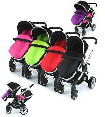 Pushchair Foot-muff Cosy Toes Fit Buggy's & Pushchairs (Lite)