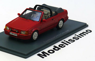 1:43 Neo Ford Escort XR3i Convertible red