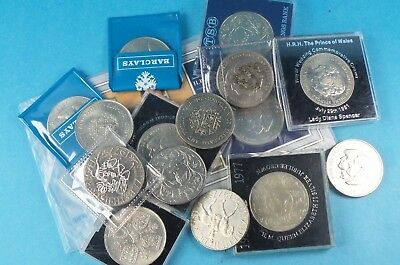 Collection Of 15 Royal Crowns Mixed Dates