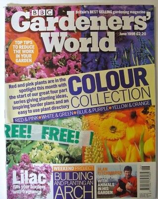BBC Gardeners' World Magazine. June, 1998. Lilac fills your borders fragrance.