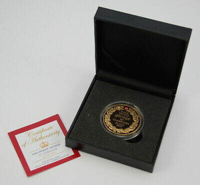2013 HRH Prince George of Cambridge - The Royal Baby Gold Plated Commemorative