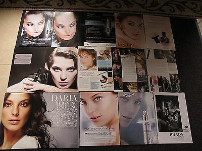 Daria Werbowy Big Lot French Us Clippings