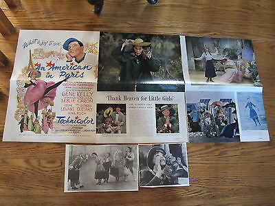Leslie Caron Vintage French Us Clippings