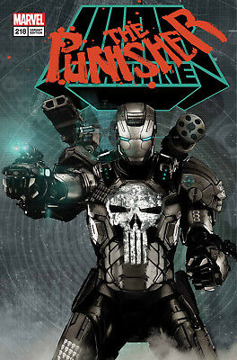 Punisher #218 Lenticular Variant Preorder No Extra P&p Nm Bagged And Boarded