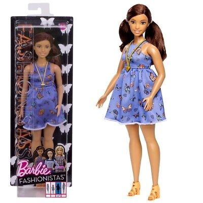 Barbie - Fashionistas 66 - Curvy - Doll in Butterfly Dress