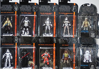 HASBRO® Star Wars® Black Series Konvolut mit 10 Figuren (10cm)