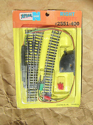 NEW ~ ATLAS Vintage RIGHT REMOTE SWITCH ~ N Scale Code 80 Track Lot ~ Mayhayred