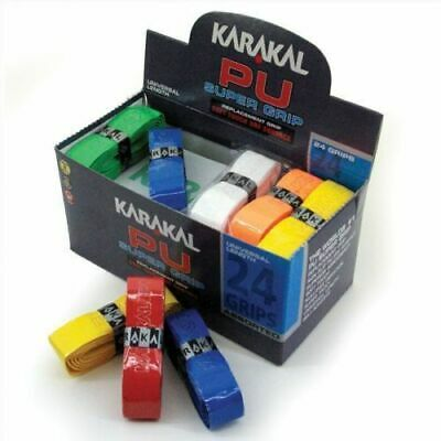 KARAKAL Super Grip PU Racket Grips for Tennis, Squash, Badminton - CHOOSE COLOUR