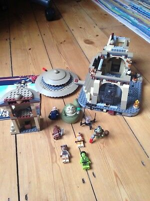 LEGO STAR WARS - 9516 Jabba's Palace - Most of it & Manual