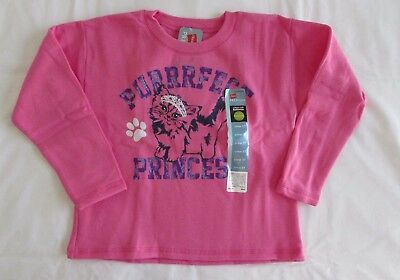 NWT Hanes Girls pink sweat shirt size 5T