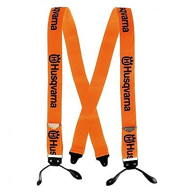 Husqvarna Arborist Chainsaw Trouser Braces With Loops