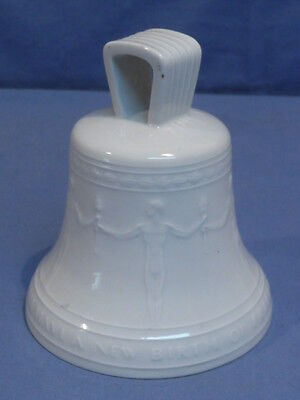 Original POST-WWII German Made China Bell w/English Text