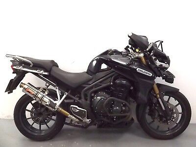 2012 Triumph Tiger Explorer 1215 Damaged Spares Or Repair *no Reserve* (13087)