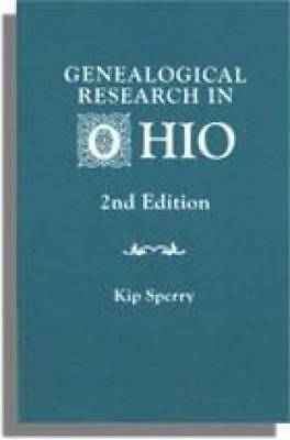 Genealogical Research in Ohio - Collections Library Etc