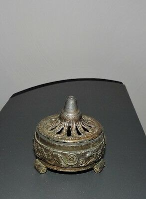 Antique Vantines Incense Burner Pagoda