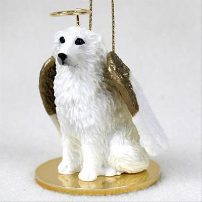 Great Pyrenees Dog ANGEL Tiny One Ornament Figurine Statue