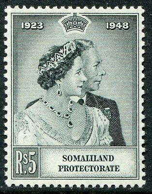 Somaliland 1949 Silver Wedding 5r SG 120 unmounted mint (cat. £4.75)