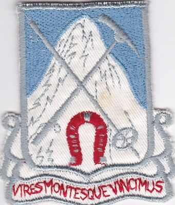 German Made Original 87Th Infantry Regiment 10Th Mountain Division
