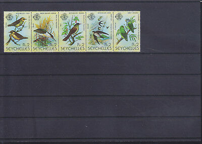 054803 Vögel Birds Seychelles 430-34 ** MNH Year 1979