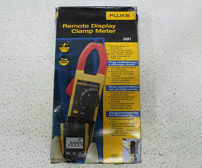 Fluke Remote Display True-RMS Clamp Meter 381