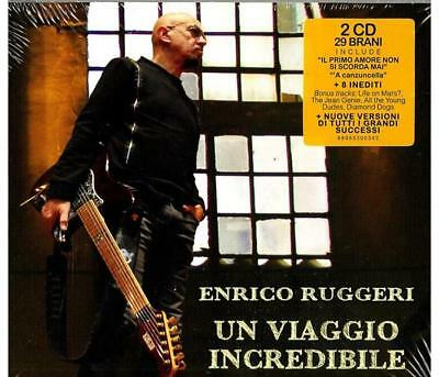 Musica SONY MUSIC - Enrico Ruggeri - Un Viaggio Incredibile   - 12-02-2016