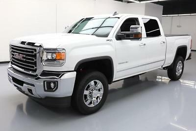2015 GMC Sierra 2500 SLT Crew Cab Pickup 4-Door 2015 GMC SIERRA 2500 HD SLT CREW Z71 4X4 DIESEL NAV 20K #585756 Texas Direct