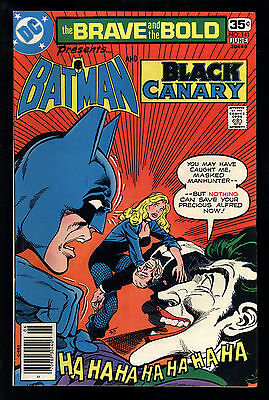 Brave And The Bold (1955) #141 1st Print Black Canary Joker Mark Jewelers FN/VF