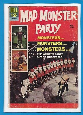 Mad Monster Party_September 1967_Very Good_Silver Age Dell Comics!