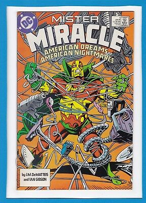 "Mister Miracle #1_January 1989_Vf/nm_""american Dreams...american Nightmares""!"