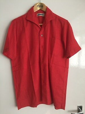 True Vintage 1950S Rockabilly Mens  Shirt Excellent Condition