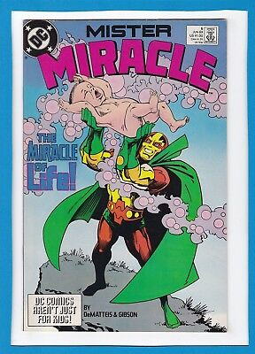 "Mister Miracle #6_June 1989_Very Fine+_""the Miracle Of Life""!"