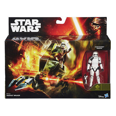 HASBRO® B3717 STAR WARS™ Assault Walker & Stormtrooper™ Seargant 10cm Figur