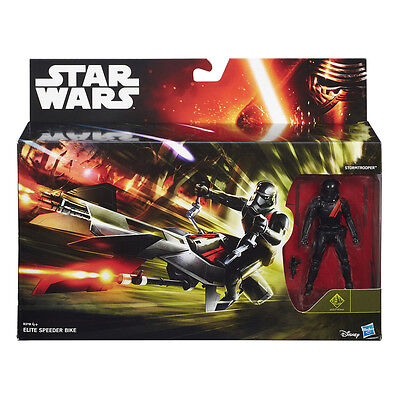 HASBRO® B3718 STAR WARS™ Elite Speeder Bike & Stormtrooper™ 10cm Figur