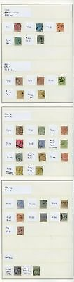 Tobago 1879-96 used collection (30) inc fine and better items Ex David Pitt