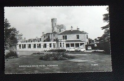 Valentine Unused Real Photograph Postcard of Burghfield House Hotel, Dornoch