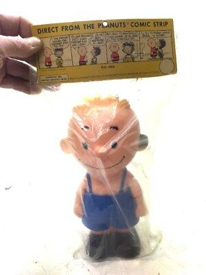 1956 Peanuts Hungerford Pig Pen United Feature Syndicate Vinyl Doll Original Pk
