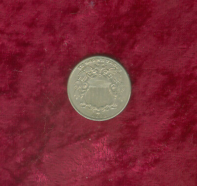 1883 Shield Nickel in Fine to Very Fne