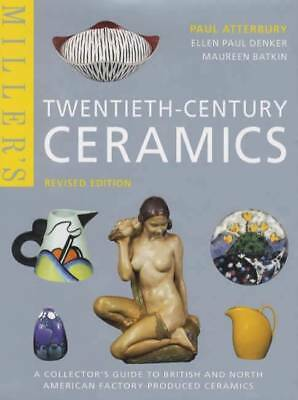 Miller's 20th Century Ceramics ID Guide Book Marks Hall Roseville Minton Beswick