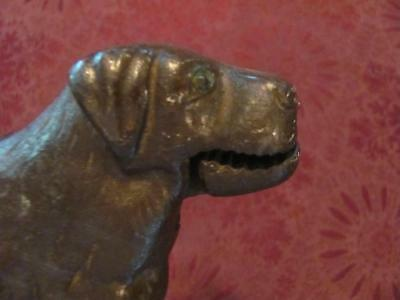 Vintage/Antique Heavy Cast Iron Figural Dog Nutcracker Rottweiler? St. Bernard?