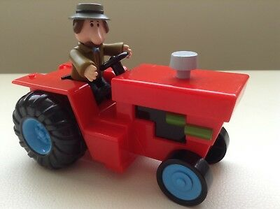 Alf Thompson & Tractor From Childrens TV Series Postman Pat